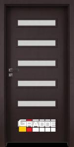 Интериорна врата Gradde Schwerin – Орех Рибейра