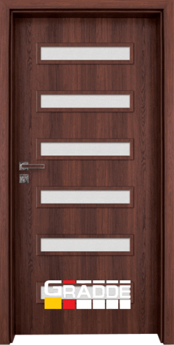 Интериорна врата Gradde Schwerin - Шведски дъб