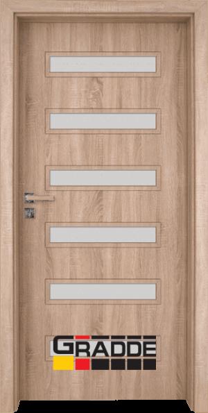 Интериорна врата Gradde Schwerin - Дъб Вераде
