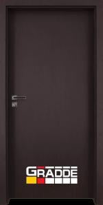 Интериорна врата Gradde Simpel – Орех Рибейра