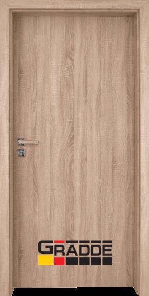 Интериорна врата Gradde Simpel - Дъб Вераде