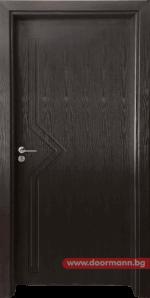 Интериорна врата Gama 201p – Венге