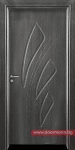 Интериорна врата Gama 202p – Сив кестен