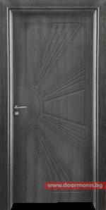 Интериорна врата Gama 204p – Сив кестен