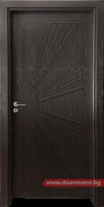 Интериорна врата Gama 204p – Венге