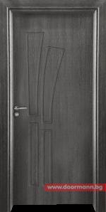 Интериорна врата Gama 205p – Сив кестен