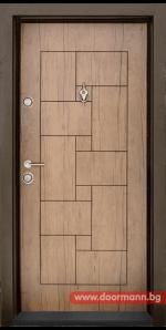 Блиндирана входна врата Т100 – Antik