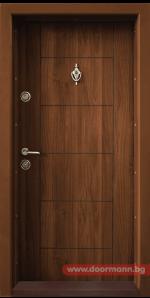 Блиндирана врата Т102 – Златен дъб