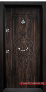 Блиндирана входна врата Т110 – Африка
