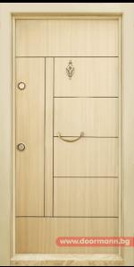 Блиндирана врата Т587 – Зебра