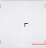 Метална пожароустойчива врата – двукрила