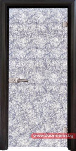 Стъклена врата модел Basic G 12-1 Silver B
