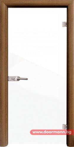 тъклена врата с фолио - модел Folio G 15-1